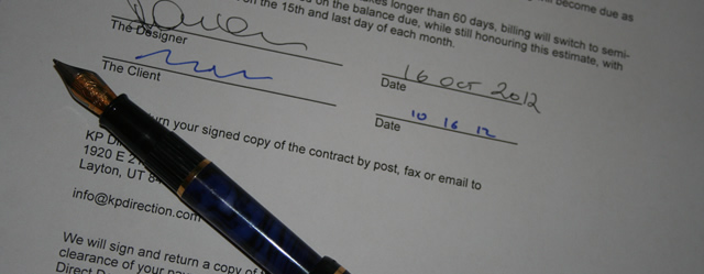 Web Development Contract